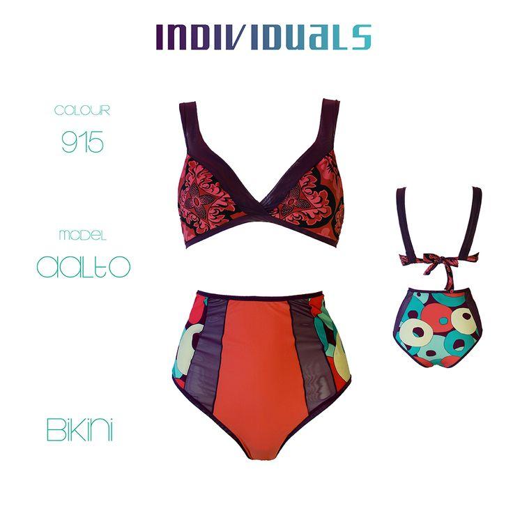 Il bikini a vita alta INDIVIDUALS #50s inspired with a new incredible design  #bikini #bikinilovers #bandeau #fascia #brasiliancut #triangle #triagolo #costume #intero #bathingsuit #swimsuit #madeinitaly #fattoamano #costumedabagno #summer #ss16 #newcollection #pezzounico #vitaalta #highwaist #highwaisted #fringe #frange #fringebikini #interidacocktail #beachparty #beachwear #beach