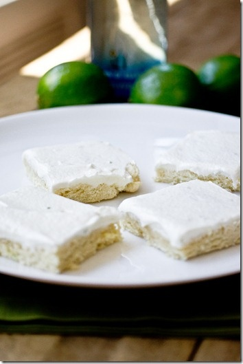 Margarita Cookie Bars - perfect for Cinco de Mayo!
