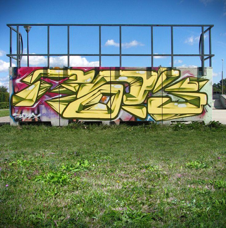 2011 Poland Zabrze skatepark