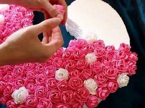 DIY. Делаем бумажный помпон своими руками. Шары из бумаги. Tissue paper pompom - YouTube