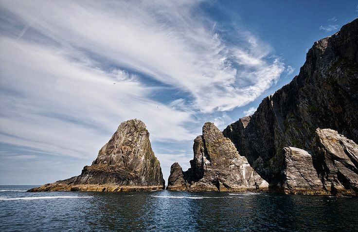 Sea Stacks At Inishturk by Aoife Herriott on ArtClick.ie Photos of Ireland