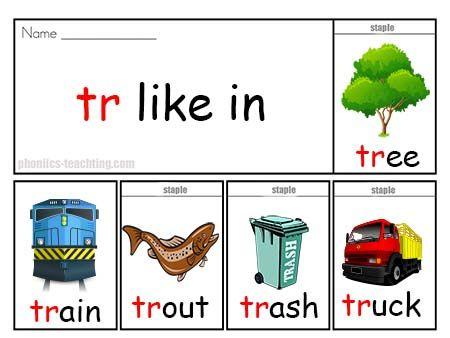 how to teach the tr sound