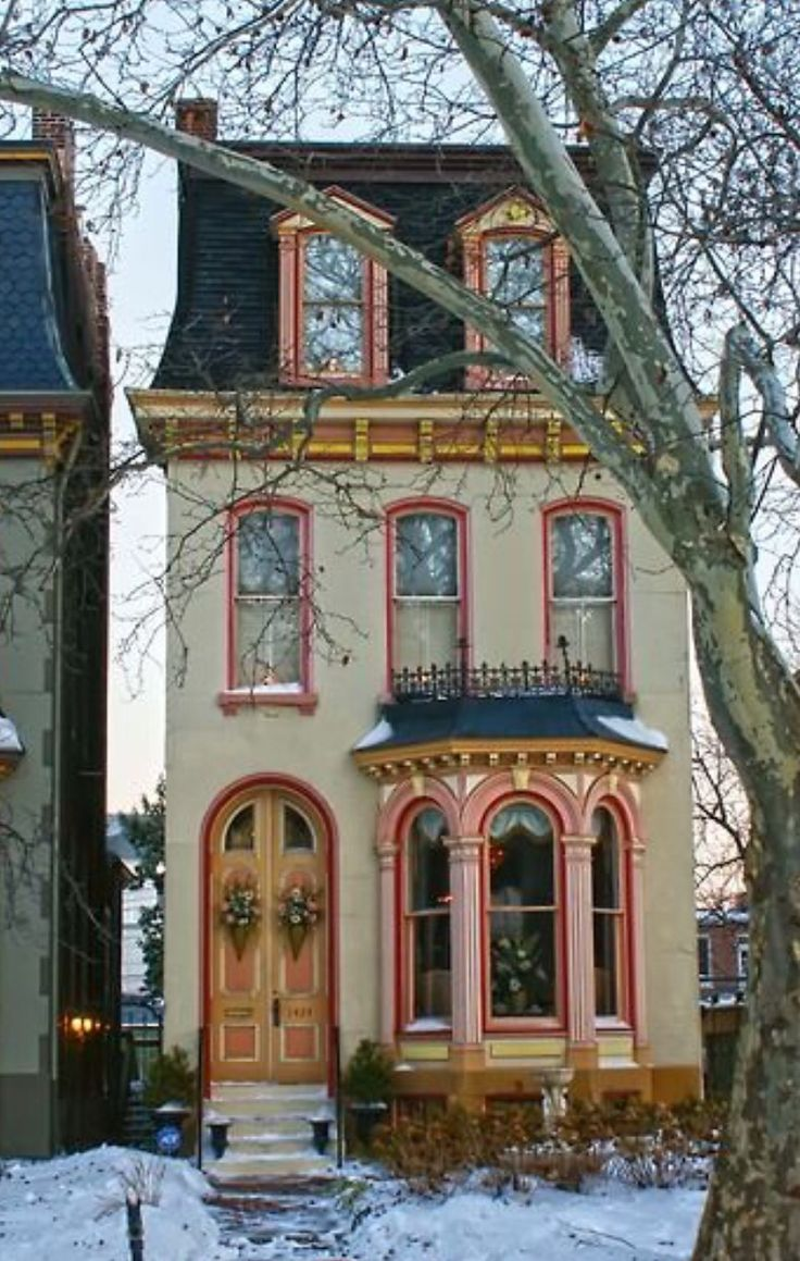 Aesthetic Movement House Victorian Homes Cute House