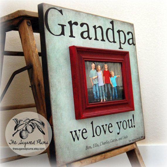 .: Grandparents Gift, Mothers Day Frames, Gift Ideas, Grandparents Day, Pictures Gift, Grandpa Pictures, Mothers Day Gift Pictures, Picture Frames, Pictures Frames