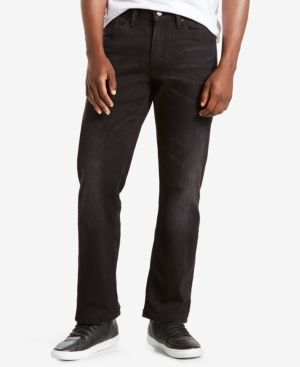 Levi's 559 Relaxed Straight Fit Jeans - Black 32x32