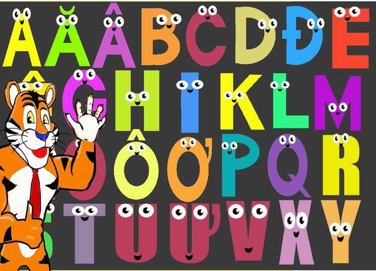 Dạy bé học bảng chữ cái Tiếng Việt  - Learn The Vietnamese Alphabet For Kids - YouTube