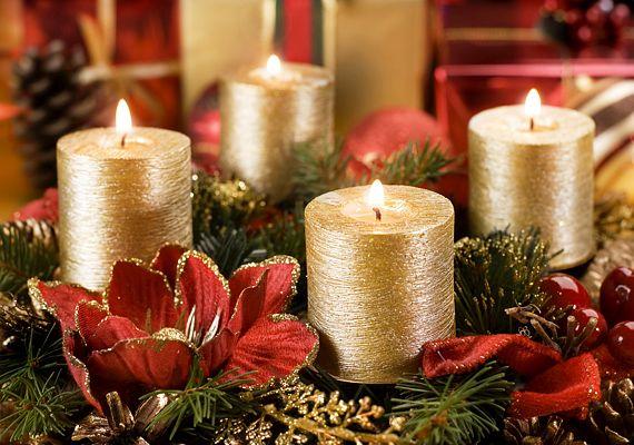 Az arany-piros tipikus karácsonyi kombináció   femina.hu