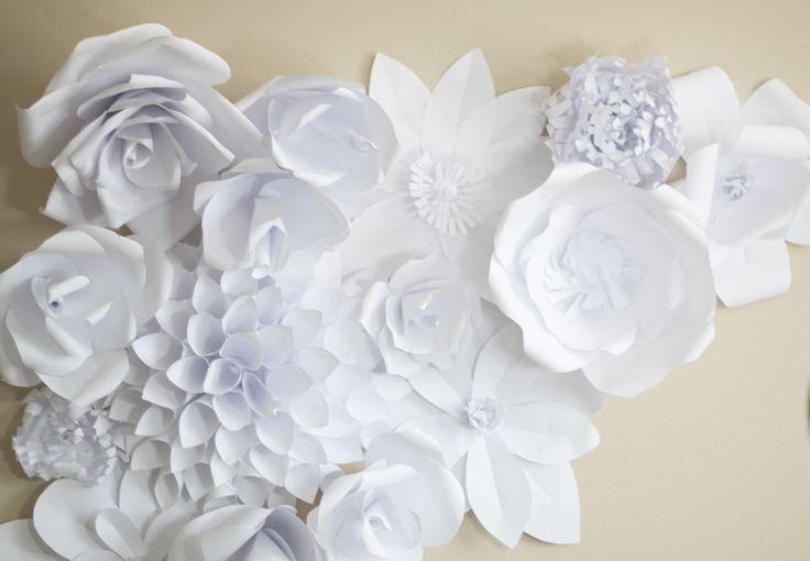 Basteltipp: Papierblumen basteln - große Papier-Dahlien