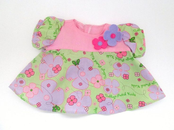 7 Best Cabbage Patch Doll Clothes Images On Pinterest Doll Clothes