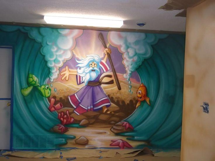 Retta Baptist Church · Church Bulletin BoardsMural WallMuralsPrayer  RoomChurch NurserySunday SchoolNursery ... Part 88