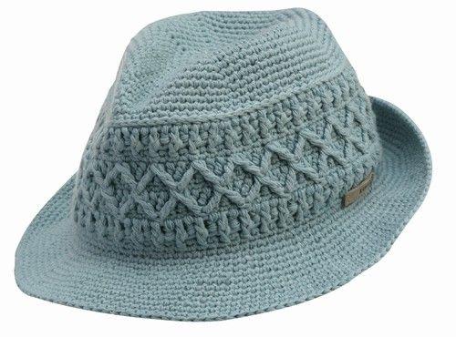 Kangol crochet hat