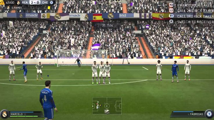 FIFA 15 Kick Off 2-3 REA V CHE, 2nd Half