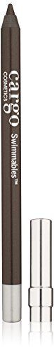 (Product review for Cargo Swimmables Eye Pencil, Pebble Beach). Stay in line. An ultra-creamy, extreme wear, waterproof eyeliner with the feel of a liquid and versatility of a pencil. Locks comfortably into place for up to 14 hours. Transfer-resistant formula glides on effortlessly to create a variety of looks. Allows for ample blending time before setting....
