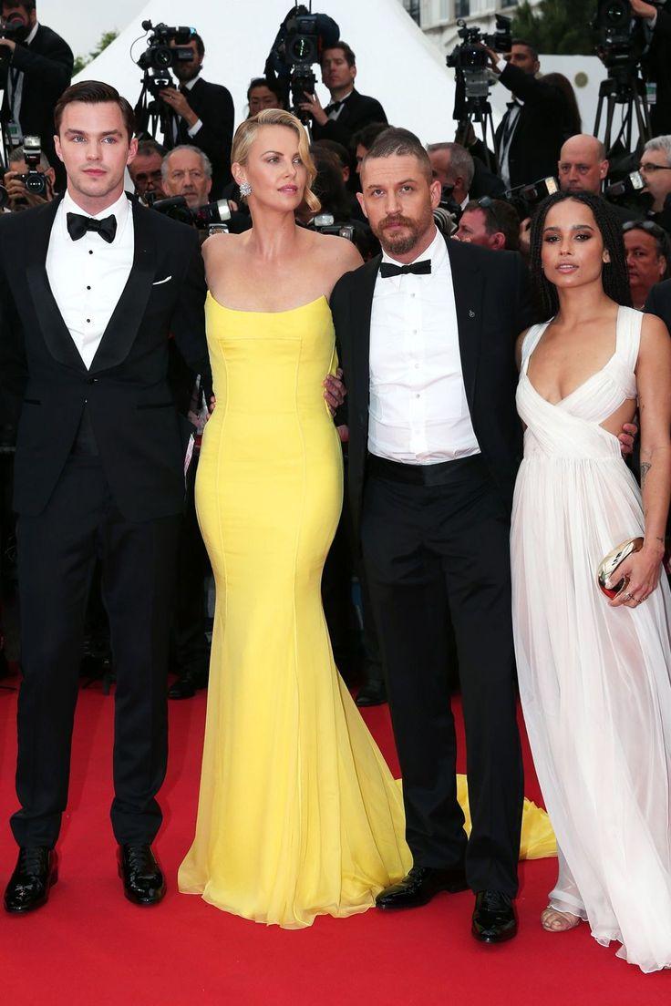 Nicholas Hoult, Charlize Theron, Tom Hardy and Zoe Kravitz.