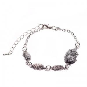 Cute hedgehog family bracelet