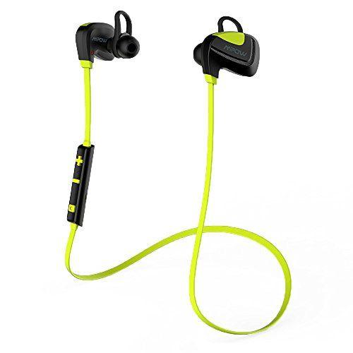 Casque Sport Bluetooth Hifi Mpow Seashell, ecouteurs sport sans fil stéréo résistant à la transpiration et aux intempéries, oreillettes…