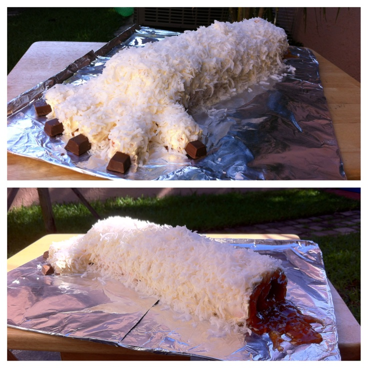 My Brother S Birthday Request A Severed Wampa Arm Cake