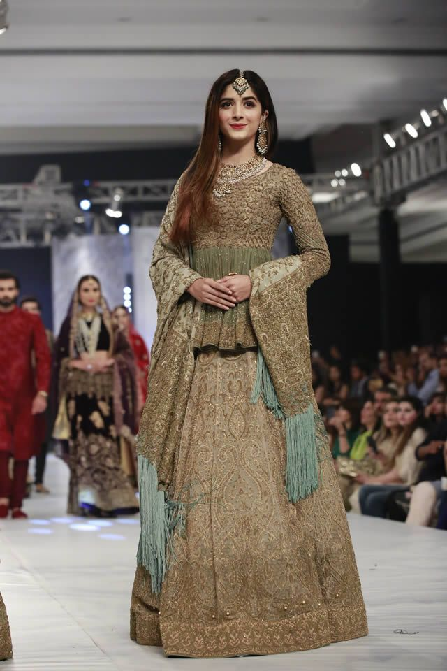 PFDC LOreal Paris Bridal Week 2016 HSY Latest Dresses