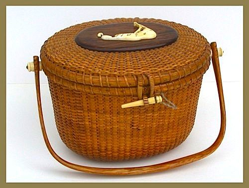 Vintage Nantucket Basket Purse