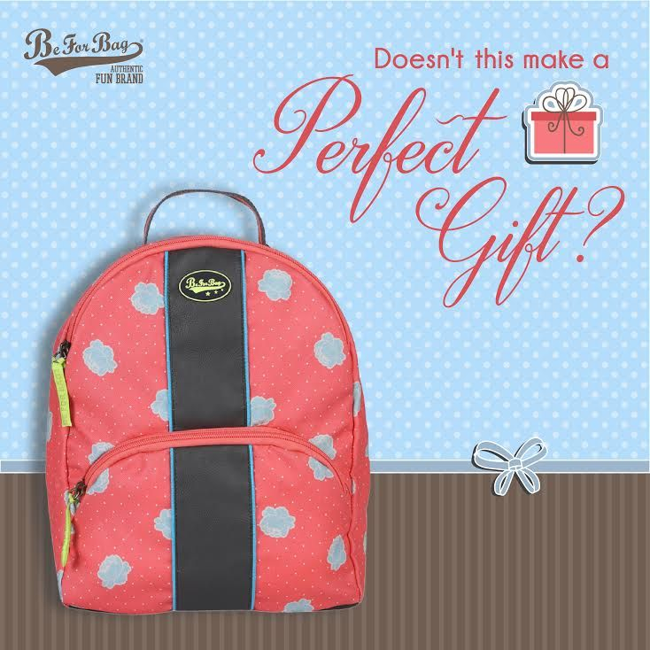 Dear Secret Santas! We have just the right gift for this season. Check out our collection: www.beforbag.co.in #beforbag #giftingseason #backpacks #bags #christmas #santa