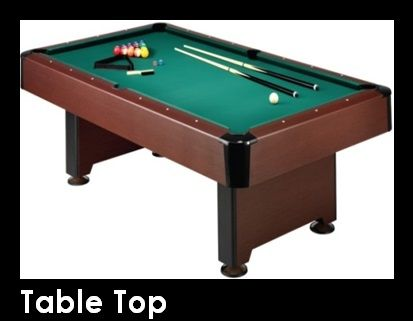 Table Top - Challenge your guests to a game of pool, ping pong, air hockey or shuffleboard with our assortment of table top games! Table Top games are a fun and unique way to bring the excitement to your party! Visit our website for more information!