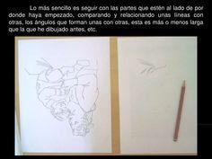 El hemisferio derecho, es el intuitivo, el que percibe la totalidad, el irracional. </li></ul>Para dibujar debemos liberar...