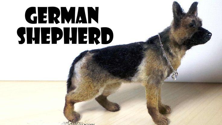 Miniature German Shepherd - Polymer Clay Tutorial