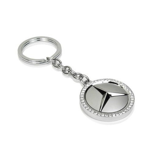 Mercedes benz swarovski key chain official licensed for Mercedes benz key chain