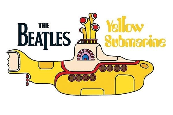 beatles yellow submarine poster - Google Search