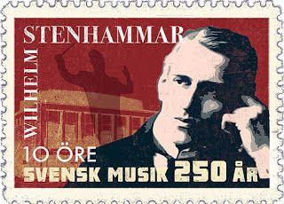 Stenhammar. Stamp vintage style.