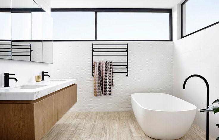 Sturdy black bathroom taps | modern bathroom inspiration bycocoon.com…
