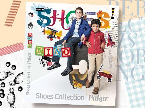 Catálogo niño Shoes Collection Pakar Otoño invierno 2014.