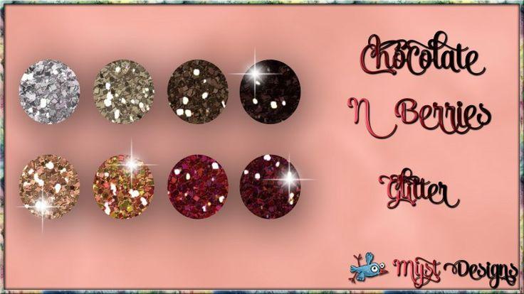 Chocolate N Berries - Glitter