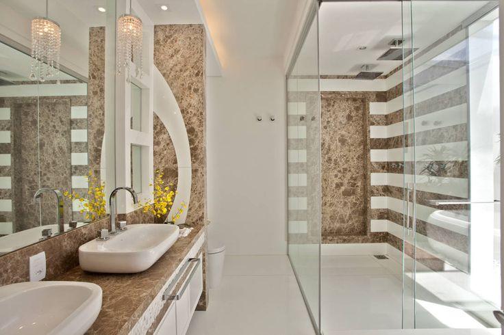 Construindo Minha Casa Clean: Tipos de Box de Vidros - Inspire-se em 50 Modelos de Banheiros!