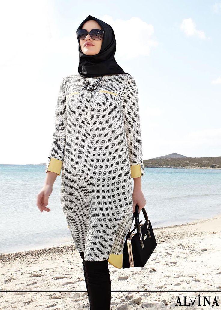 ALVİNA '15 Yaz Kreasyonu 4712 Maglia Tunik, www.alvinaonline.com'da.. #alvina #alvinamoda #alvinafashion #alvinaforever #hijab #hijabstyle #hijabfashion #tesettür #fashion #stylish #newcollection #ilkbahar #yaz