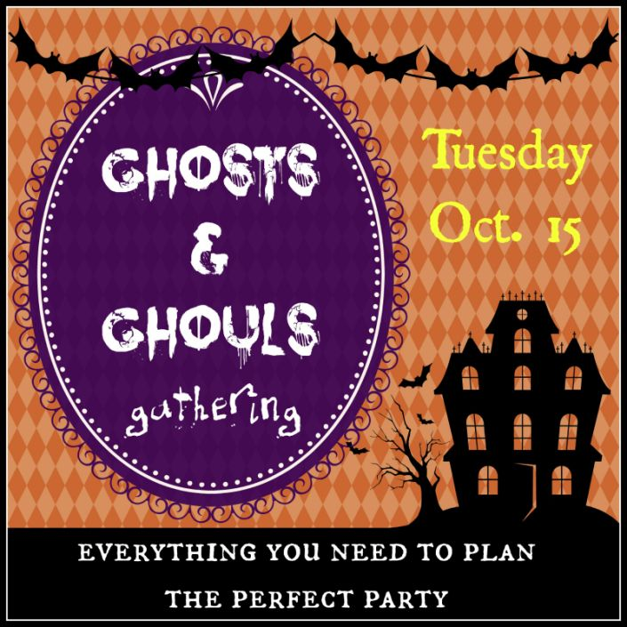 Ghosts and Ghouls Gathering at The Everyday Home