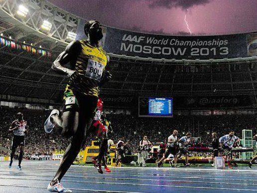 """Christopher Clarey on Twitter: """"Sorry, THIS is still the best Usain Bolt photo…"""