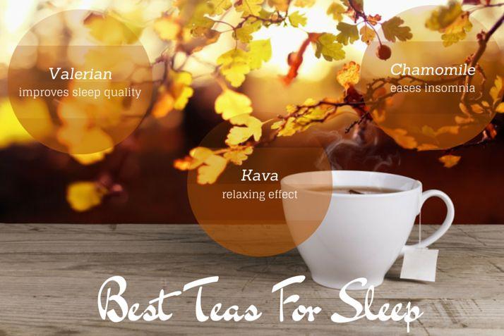The Best Teas for #Sleep