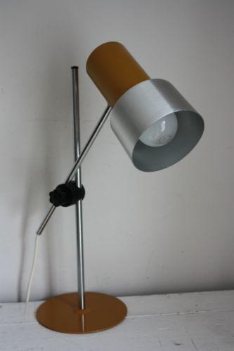 Great Retro Prova Desk Lamp Vintage Task Light Table 70s Bhs Italy Mustard Furniture Pinterest Lighting And
