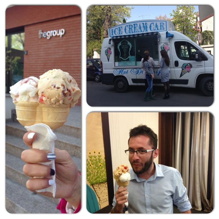 ... when ice-cream car visits us :)