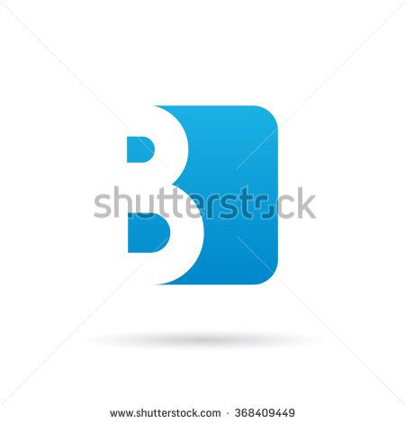 Letter B  logo icon design template element