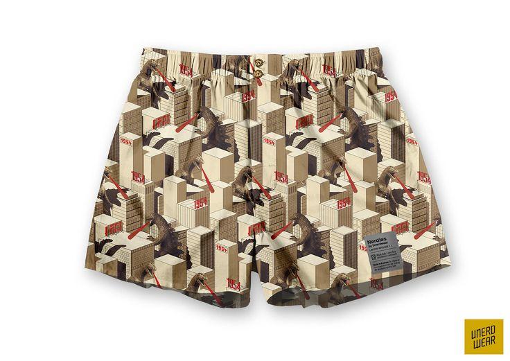 "Unerdwear Nerdies ""PRISM 1954"" #underwear #boxers"