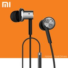 US $17.51 Original XiaoMi Mi IV In-Ear Wired Hybrid Earphones Control with Mic for Android iOS for Mobile phone MI3 MI4 MI5 Redmi. Aliexpress product