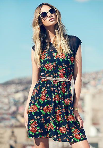 Floral prints, llena de vida tu look #TOPSFalabella