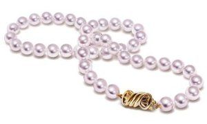 "9.5x10mm AAA Quality Japanese Akoya saltwater cultured pearl necklace 24"" Matinee"
