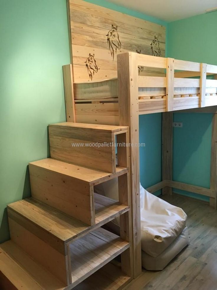 Best 25 Pallet Bunk Beds Ideas On Pinterest Bunk Bed
