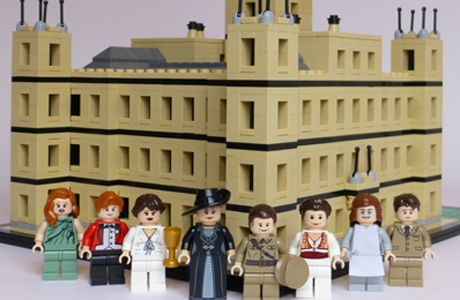 Look! It's 'Downton Abbey' the Lego Version