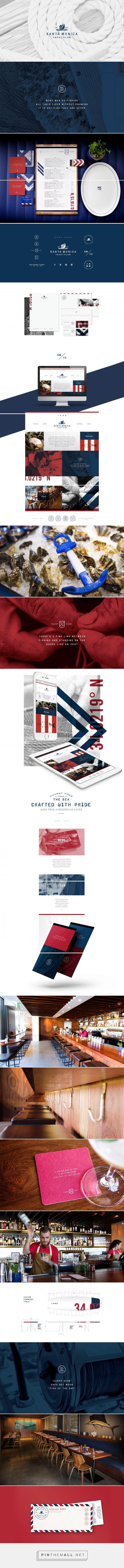 Santa Monica Yacht Club Branding and Menu Design by Farm Design | Fivestar Branding Agency – Design and Branding Agency & Inspiration Gallery