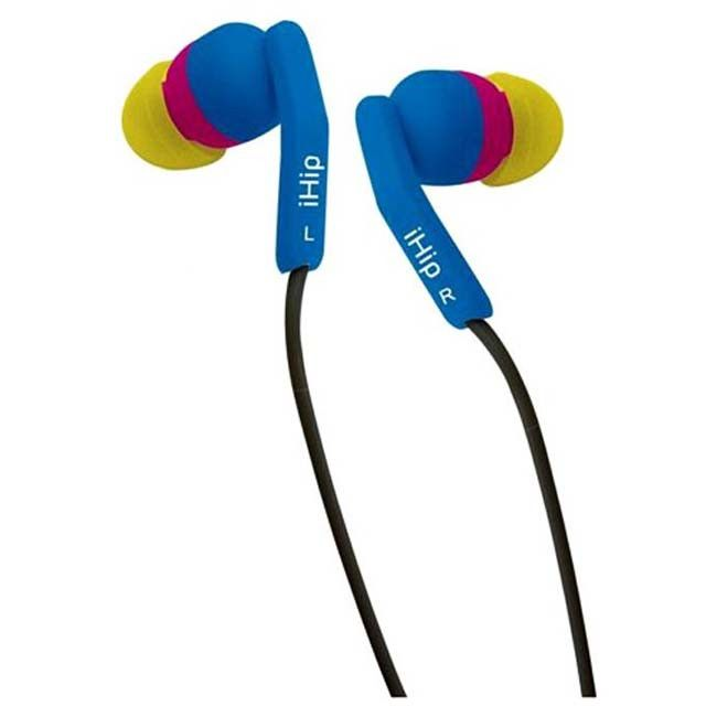iHip Sunflower Fashionable Noise Isolating Earbuds