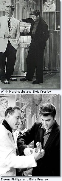 'You could tell that something exciting was going on when the record was played', says Wink. Elvis appeared on Wink's 'Teenage Dance Party' show on June 16, 1956 to promote his July 4 charity show at Russwood Park in Memphis -- it was the first of two television interviews Elvis did with Wink. - See more at: http://www.elvis.com.au/presley/interview_with_wink_and_sandy_martindale.shtml#sthash.MMpxhXDW.dpuf